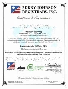R2 Certificate