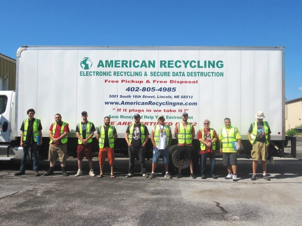 Team at American Recycling
