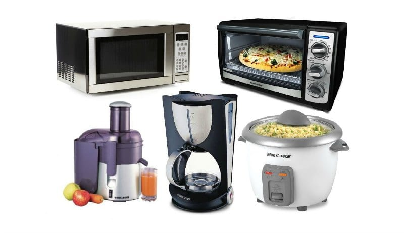 Electronic Appliances: Microwaves, Bakers, Mixer, Rice Cooker